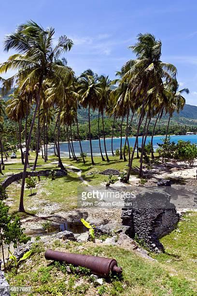 fort olivier, old french fortress - paisajes de haiti fotografías e imágenes de stock
