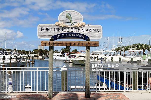 fort pierce city marina - city_(florida) stock pictures, royalty-free photos & images