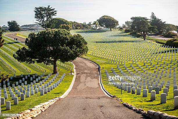 Fort Rosecrans National Cemetery, San Diego, USA
