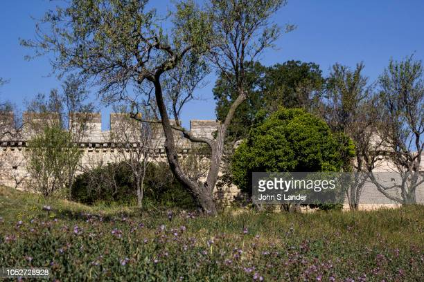 Fort Saint Andre is remarkable for its state of preservation It sits imposingly at the top Mount Andaon above the Rhône River The site was already...