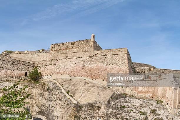 fort saint nicolas-marsiglia-francia - pjphoto69 foto e immagini stock