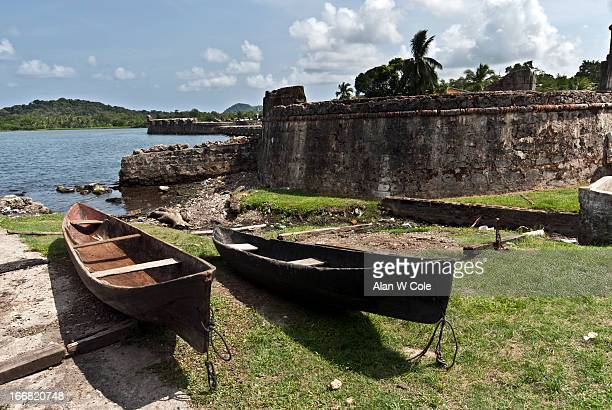 fort san lorenzo, portabello, panama - colon fotografías e imágenes de stock