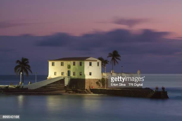 Fort Santa Maria in the Barra district Salvador - Bahia