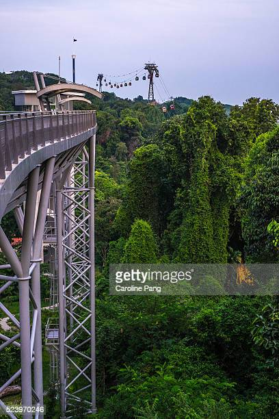 Fort Siloso Skywalk, Sentosa Island, Singapore