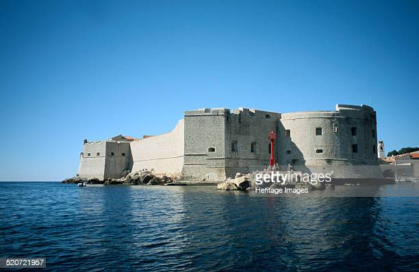 Fort St John Dubrovnik Croatia 21st century Fort St John was built in the 16th century to protect the harbour of Dubrovnik The Adriatic port of...