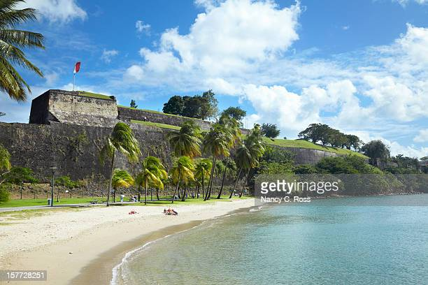 Fort saint Louis, Fort-de-France; Francia, Martinica y el Caribe