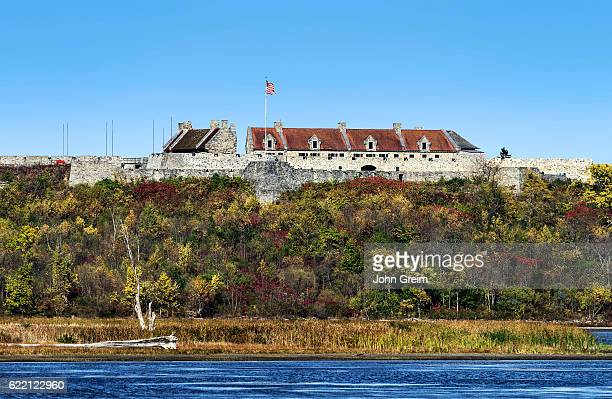 Fort Ticonderoga overlooking Lake Champlain
