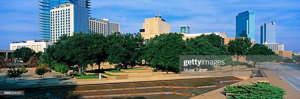 Fort Worth Water Gardens : Stock Photo