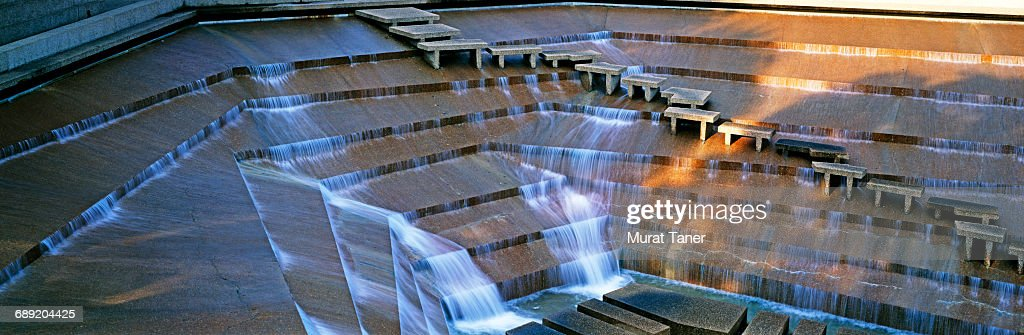 Fort Worth Water Gardens : Stock Photo