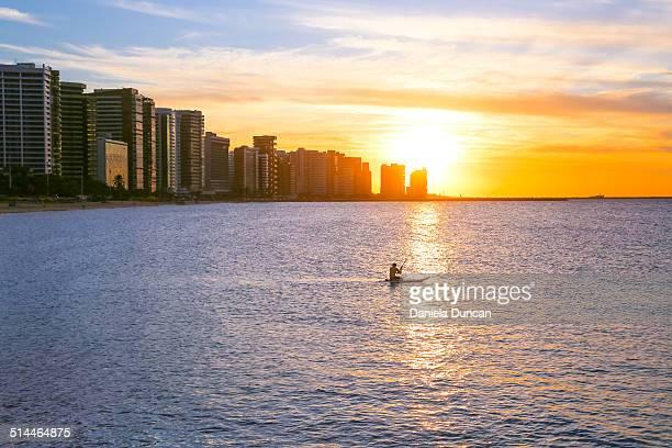 Fortaleza at sunset