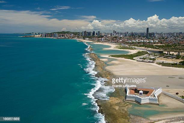 forte dos reis magos natal rn - natal brazil stock pictures, royalty-free photos & images