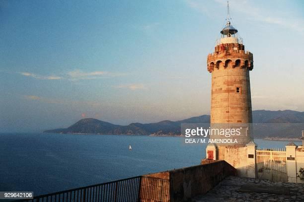 Forte Stella Lighthouse Portoferraio Elba Tuscan Archipelago national park Tuscany Italy