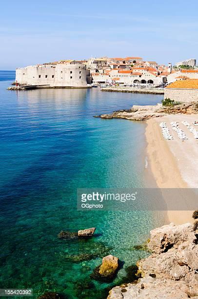Fortefied mittelalterliche Stadt von Dubrovnik, Kroatien