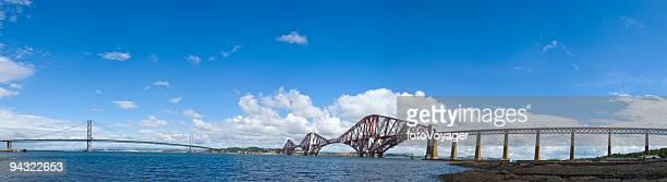 Forth rail and road bridges