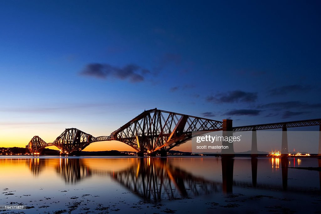 Forth Rail Bridge : Stock Photo