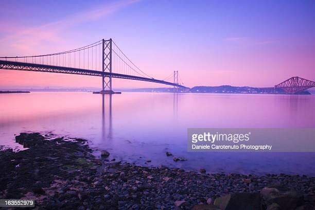 forth road bridge - daniele carotenuto stock-fotos und bilder