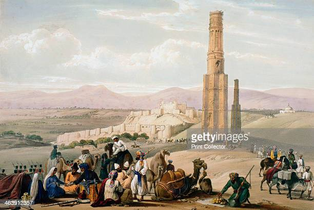 Fortress and citadel of Ghanzi First AngloAfghan War 18381842 The fortress changed hands a number of times during the hostilities The British fought...