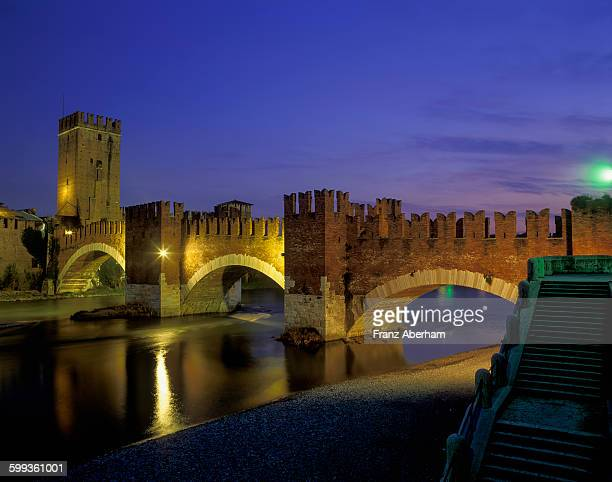 Fortress bridge Castelveccio, Verona