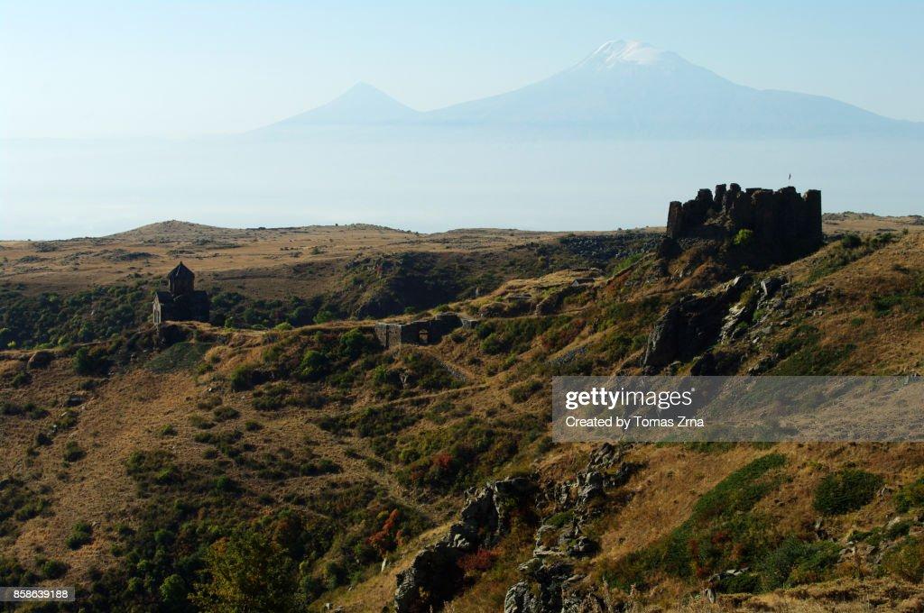 Fortress of Amberd : Stock-Foto
