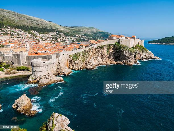 Fortress of Dubrovnic on the Adriatic