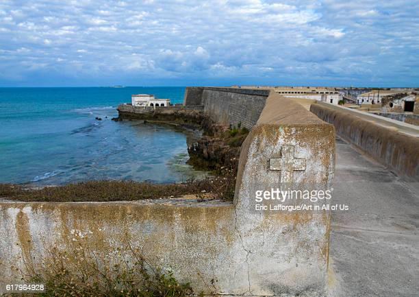 Fortress of sao sebastao, island of mozambique, Mozambique on July 18, 2013 in Island Of Mozambique, Mozambique.