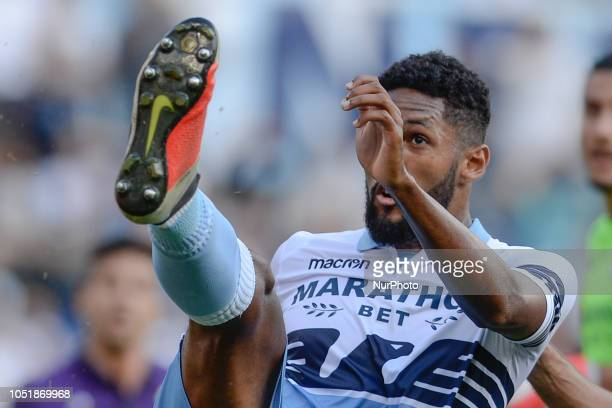 Fortuna Dos Santos Wallace during the Italian Serie A football match between SS Lazio and Fiorentina at the Olympic Stadium in Rome on october 07 2018