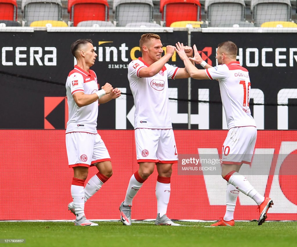 FBL-GER-BUNDESLIGA-DUESSELDORF-HOFFENHEIM : News Photo