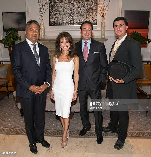 Fortuna Realty Group President Morris Moinian Susan Lucci Garden City General Manager Grady Colin and Timothy Van Wickler attends The Garden City...