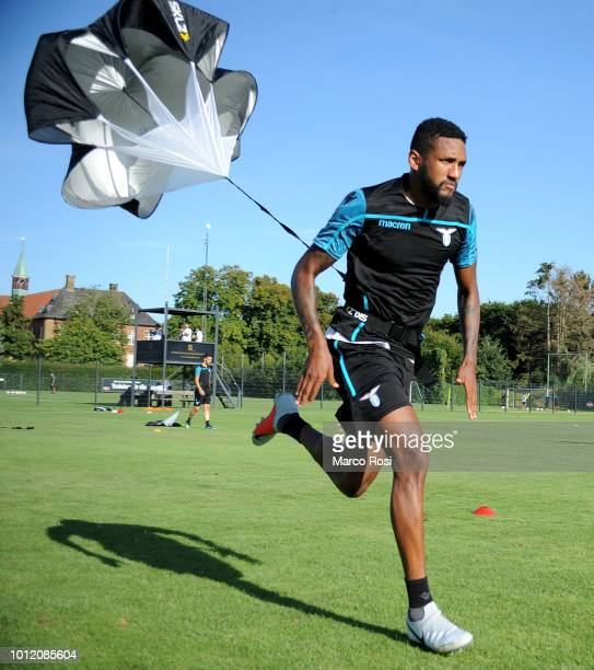 Fortuna Wallace of SS Lazio during the SS Lazio training session on August 6, 2018 in Marienfeld, Germany.