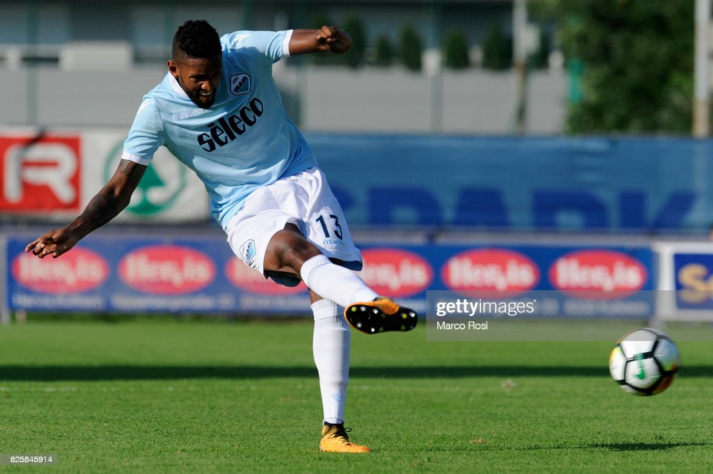 Fortuna Wallace of SS Lazio in action during the pre-season friendly match between SS Lazio and Kufstein on August 1, 2017 in Kufstein, Austria.