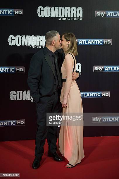 Fortunato Cerlino attends the 'Gomorra 2 - La serie' on red carpets at The Teatro dell'Opera in Rome, Italy on May 10, 2016.