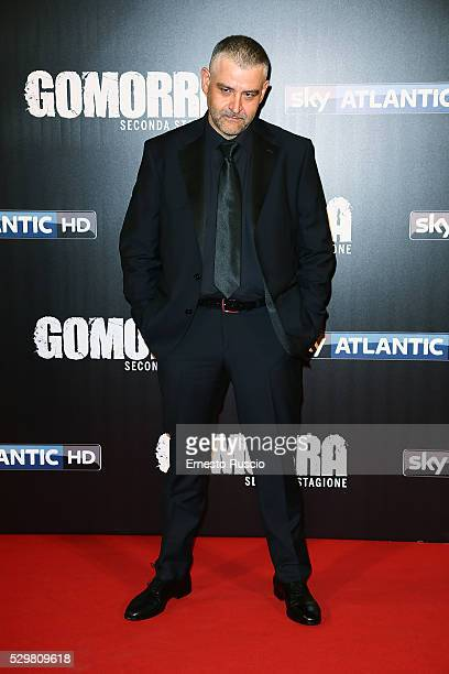Fortunato Cerlino attends the 'Gomorra' Tv Show premiere at Teatro Dell'Opera on May 09, 2016 in Rome.