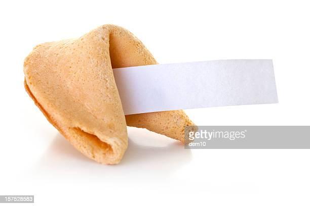 Biscuit divinatoire avec papier