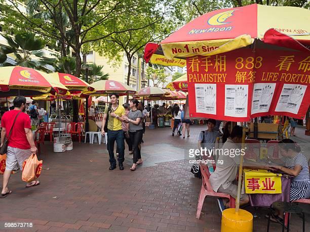 Fortunes Tellers at Waterloo Street Singapore