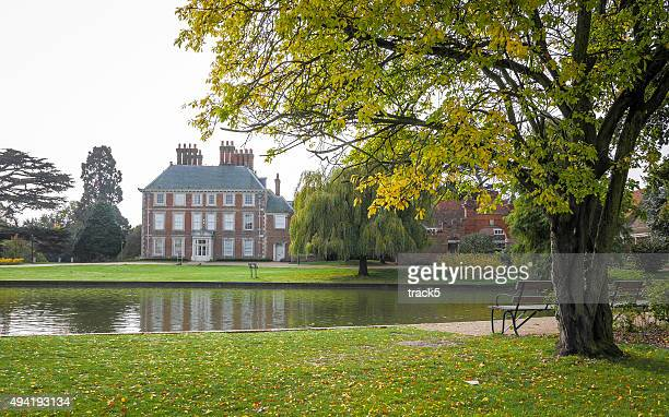 forty hall, enfield, london, uk - enfield london stock pictures, royalty-free photos & images