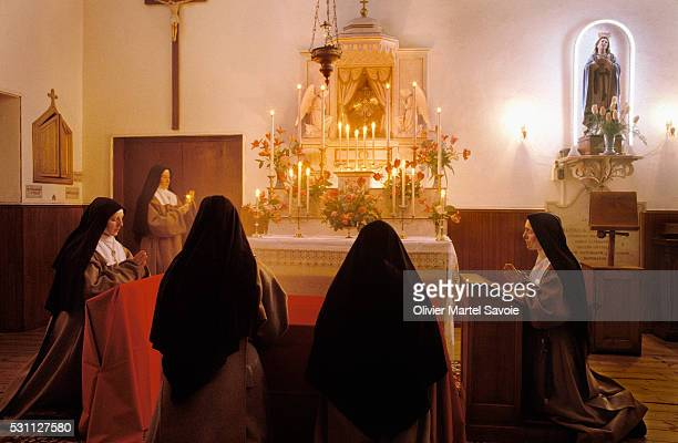 Forty Hours of Adoration at a Contemplative Order Convent