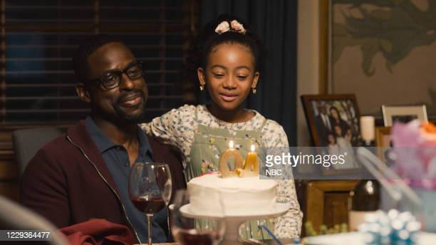 "Part 1/Forty: Part 2"" Episode 501/502 -- Pictured in this screengrab: Sterling K. Brown as Randall, Faithe Herman as Annie --"
