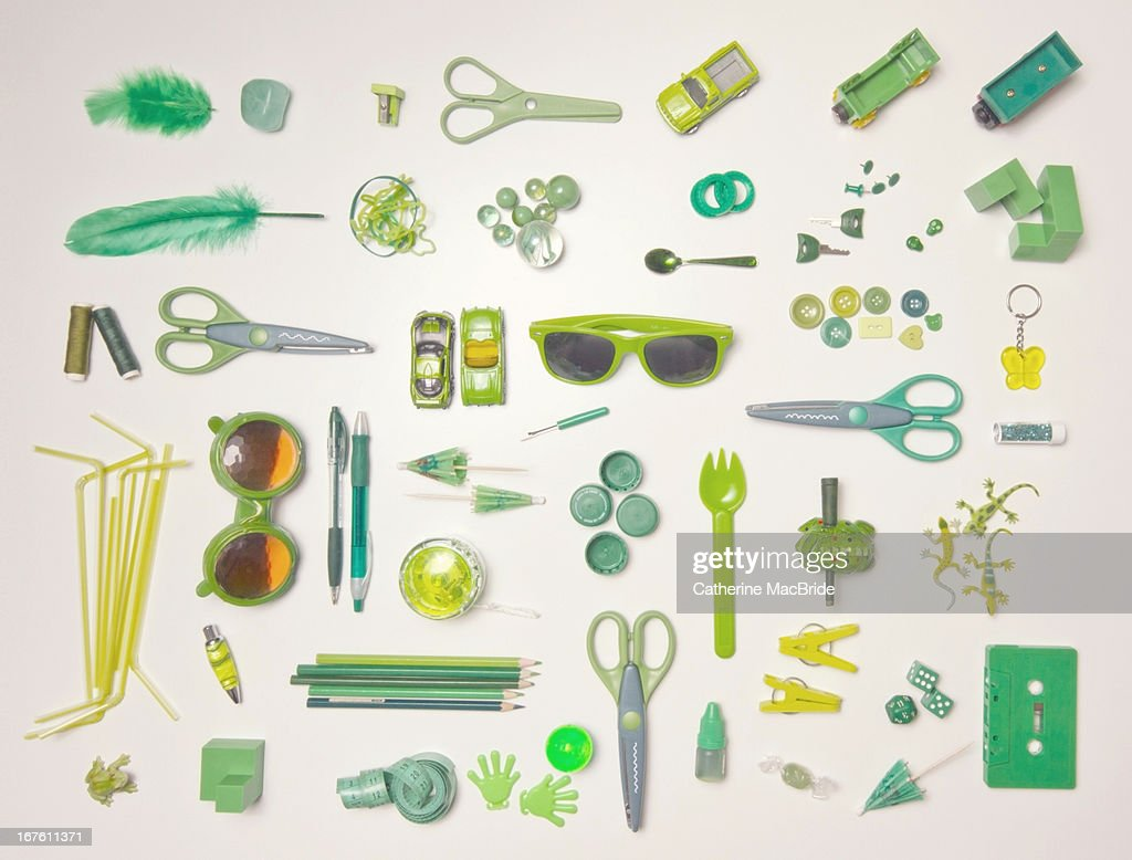 Forty shades of Green... : Stock Photo