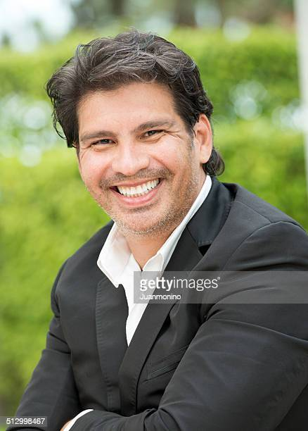 forty something man - handsome mexican men stock pictures, royalty-free photos & images