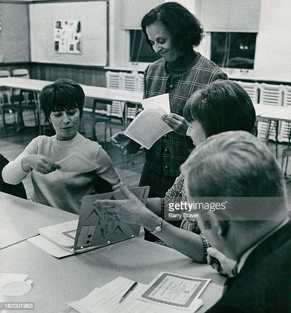 NOV 23 1971 NOV 24 1971 Fortyfive teachers principals coordinators counselors and social workers from the Denver public schools received certificates...