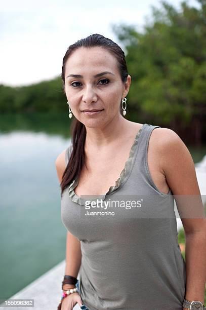 Forty-something Hispanic Woman