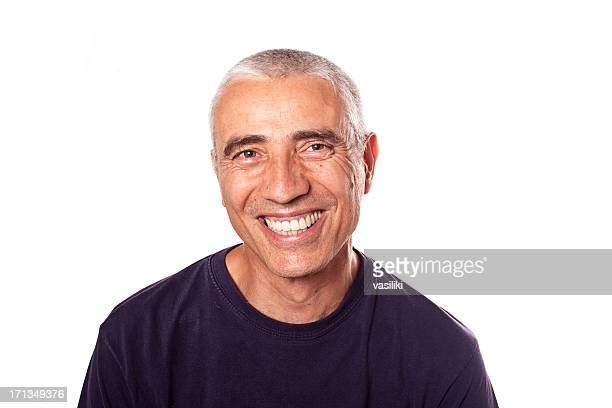 Forty-something man with bright smile