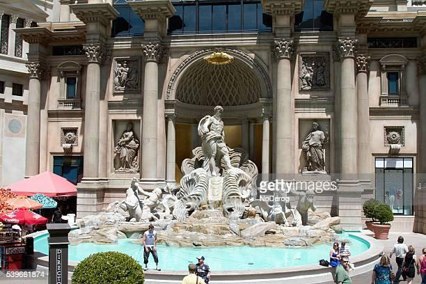 forum shops at caesar's palace in las vegas - caesars palace las vegas stock pictures, royalty-free photos & images