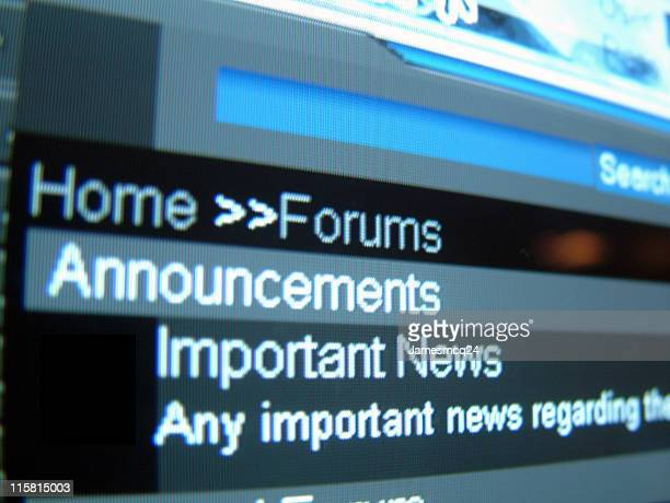 Forums->Important News