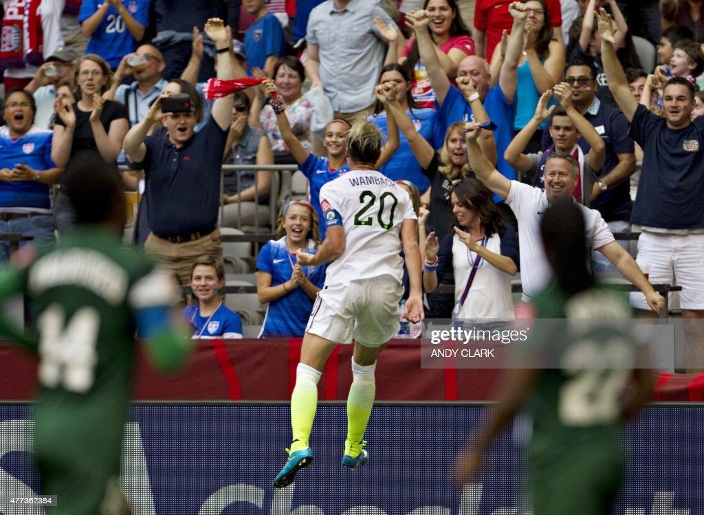 FBL-WC-2015-WOMEN-MATCH31-NGA-USA : News Photo
