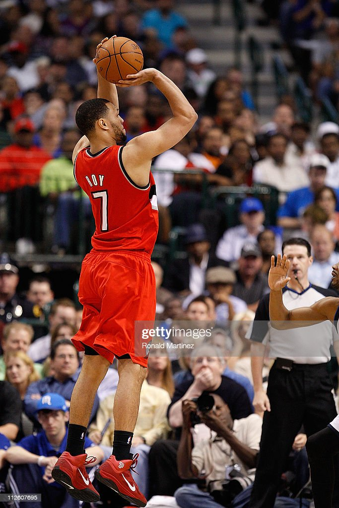 Portland Trail Blazers v Dallas Mavericks - Game Two : News Photo