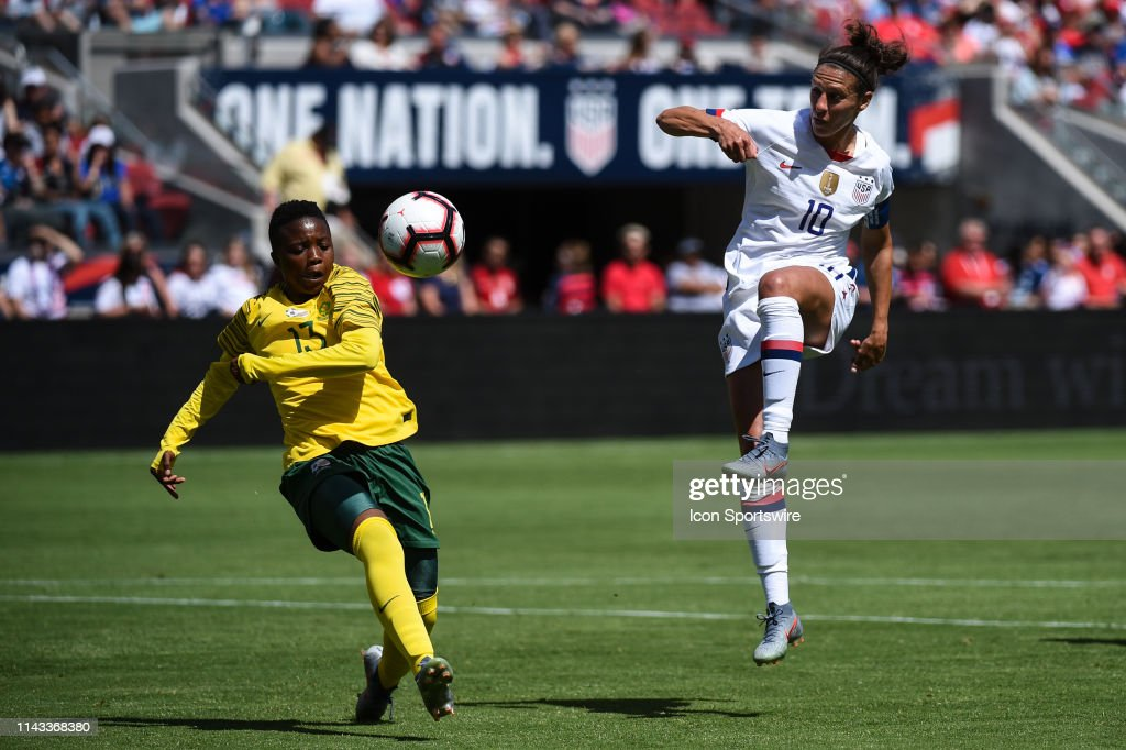 SOCCER: MAY 12 Women's - USA v South Africa : News Photo