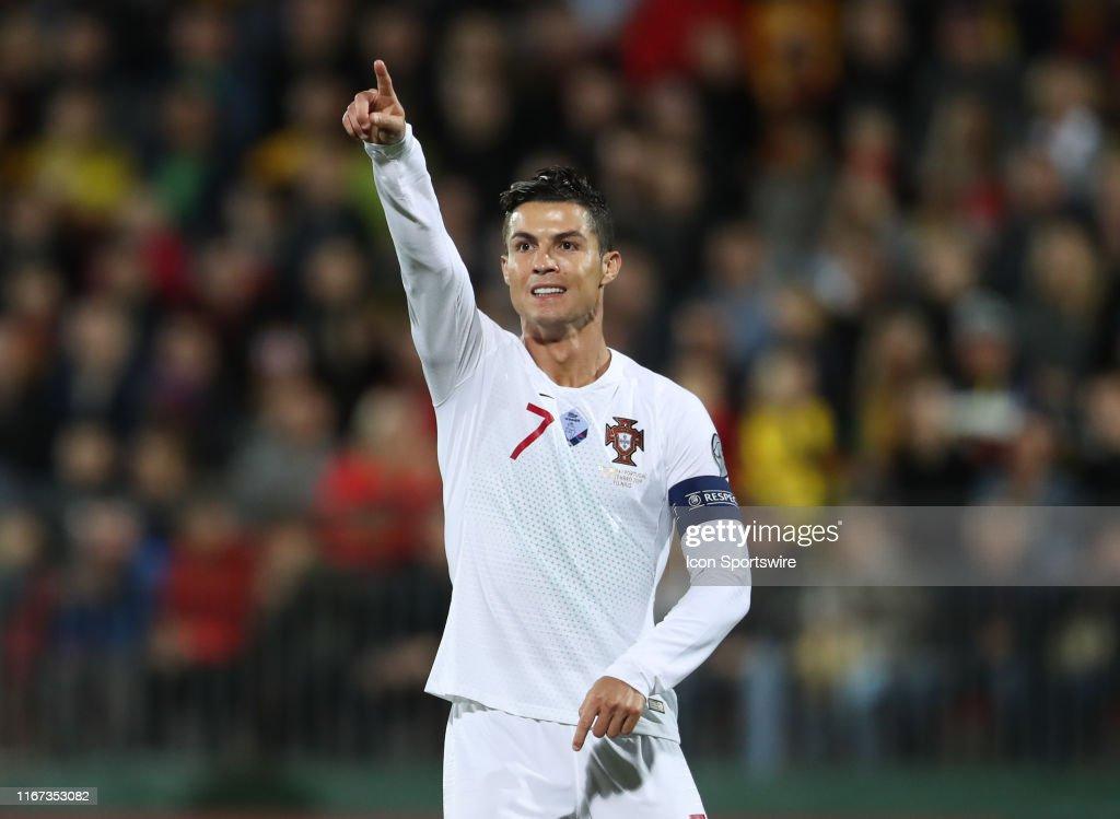 SOCCER: SEP 10 UEFA EURO 2020 Qualifying - Lithuania v Portugal : Photo d'actualité