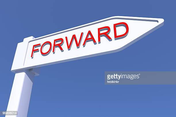 Forward directionsign CGI, XXL