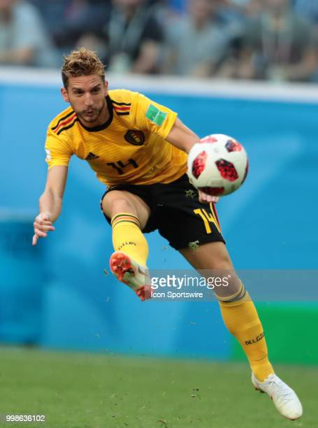 Forward Dries Mertens of Belgium National team during the third place match between Belgium and England at the FIFA World Cup 2018 at the Saint...